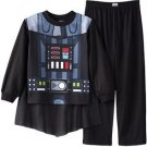 STAR WARS DARTH VADER CAPED PJ SET Boy's Size 6, 8 OR 10 Pajama Pants Set
