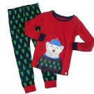 Baby Gap Boy's Size 3 Winter Polar Bear Tree Print Pajama Pants Set