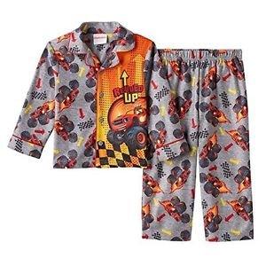 Nickelodeon Boy's Size 3T OR 4T BLAZE Monster Machines Flannel Pajama Coat Set
