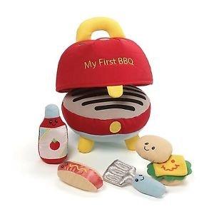 Gund BabyGund MY FIRST BBQ Barbecue Plush Playset