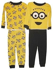 Despicable Me Boys 4-pc Mix & Match Pajama Set Size 4