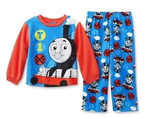 Thomas and Friends Steam Engine Boy's 3T OR 4T Fleece Pajama Pants Set