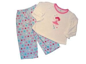 CARTER'S  JUST ONE YEAR Girl's 2T BALLERINA Dance Pajama Set