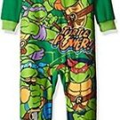 TEENAGE MUTANT NINJA TURTLES Boys 4T TURTLE POWER Fleece Pajama Sleeper
