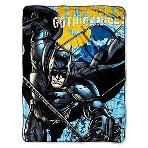BATMAN GOTHIC KNIGHT Super Plush Fleece Blanket Throw