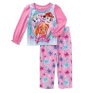 PAW PATROL Girl's Size 4T SKYE, MARSHALL EVEREST Jewels Pajama Pants Set