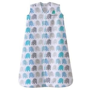 HALO Girl's, Boy's Elephant Fleece Baby Sleepsack, Wearable Blanket, Large