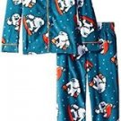 Komar Kids Boys' Size 4/5 Yeti Snow Monster Micro Fleece Coat Set