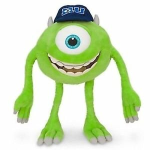 "DISNEY MONSTERS UNIVERSITY Plush 18"" MIKE WAZOWSKI"