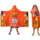 Disney Cars 2 Arrow LMQ Hooded Towel Bath