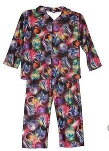 Boy's Toddler Boy's 4T Flannel Space Rocket Ship Flannel Pajama Pants Set