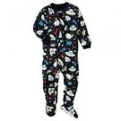 CARTER'S Boy's Size 24 Months Blue SPACE Aliens Pajama Sleeper
