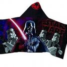 Star Wars Darth Vader Stormtrooper Children's Hooded Bath Beach Towel