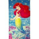 THE LITTLE MERMAID ARIEL Cotton Plush Beach Towel