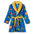 MARVEL Boy's 6, 8 OR 10 Avengers Hulk, Ironman, Fleece Bathrobe Robe