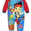DISNEY JAKE Boy's 3T, 4T OR 5T Fleece Footed Character Pajama Blanket Sleeper