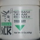 African EZ Silk No Base Cream Relaxer - Regular Strength 15 oz