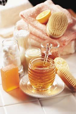 Honey Bath & Body Beauty Recipes eBook