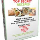 Top Secret Most Wanted Copy Cat Secret Recipes eBook