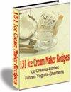 130+ Ice Cream Sorbet Frozen Yogurt Recipes eBook
