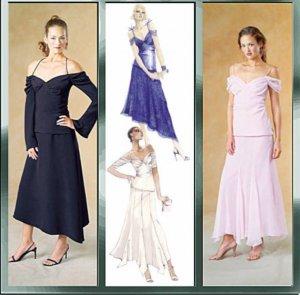 McCall's 4302  Stylish Asymmetric Skirt Patt   Sz 12-18