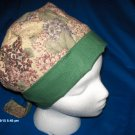 Surgical Scrub Hat Cap PIXIE EASY FIT PRETTY FADED FLOWERS