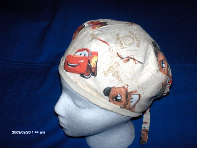 SURGICAL,MEDICAL,DOCTOR, SCRUB HAT/CAP CARS,MATER