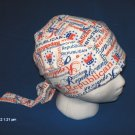 Skull Cap Bandana Do Rag Headwrap Bikers Tea Party Clothing  REPUBLICAN