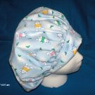 Surgical Medical Scrub Hat Cap EASTER bouffant LITTLE BUNNIES