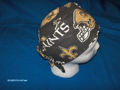 Unisex Surgical Clothing Caps Hats SPORTS NEW ORLEANS SAINTS