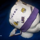 NEW SURGICAL MEDICAL PIXIE TIE-BACK SCRUB CAP LSU TIGERS