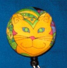 ORANGE CAT No Twist Retractable Badge Reel  Badge Holder Rated For 100,000 Pulls