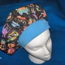 Ladies Banded Bouffants Surgical Medical Scrub Cap Hat CHINESE ZODIAC