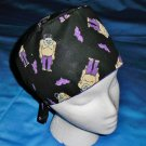 Mens Halloween Quality Unisex Scrub Hats for You Medical Caps FRANKENSTEIN