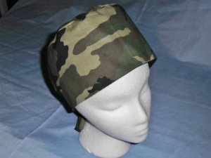 Mens Hats Doctors Scrub Techs Quality Unisex Scrub Hats Medical Caps Fun CAMOUFLAGE