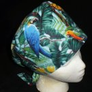 Ladies Nurses Scrubs Surgical Medical Scrub Caps Cap Affordable Hats Large Tropical Birds
