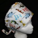 Dr.Seuss Horton Hears A Who Nurses Surgical Scrubs Scrub Caps Ladies Pixie Hat