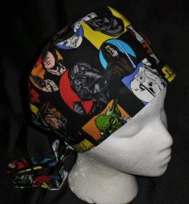 Star Wars Nurses Surgical Scrubs Scrub Caps Ladies Pixie Hat Cancer Recovery Hatst
