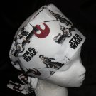 Star Wars Nurses Surgical Scrubs Scrub Caps Ladies Pixie Hat Cancer Recovery Hats White