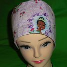 Surgical Scrubs Cap Caps Hats Ladies Pixie Disney's THE FROG PRINCESS