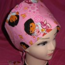 Made From Disney DocMcstuffins Fabric Pediatric Nurses Scrubs Pixie Scrub Caps Surgical Hats