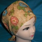 Women Ladies Nurses Affordable Surgical Medical Scrub Caps Fabric JUST PEACHIE