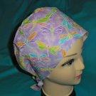 Ladies Nurses Scrubs Hats Women Pixie Scrub Caps Surgical Cap Medical Hats PASTEL DRAGONFLIES