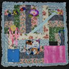 Ladies Fidget Blanket Lap Quilt Alzheimer's Stroke Dementia Brain Trauma Songbirds