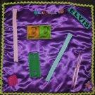 Busy Hands Purple Quilt Fidget Blanket Lap Quilt Alzheimer's Stroke Dementia Brain Trauma Gift