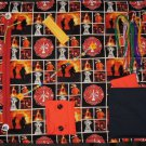 Firefighters Busy Hands Fidget Blanket Lap Quilt Alzheimer's Stroke Dementia Brain Trauma Gift