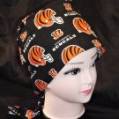 Handmade Unisex Cincinnati Bengals Ladies  Nurse Women Medical Scrubs Hats Scrub Caps