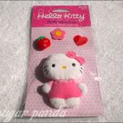 hello kitty fluffy sticker