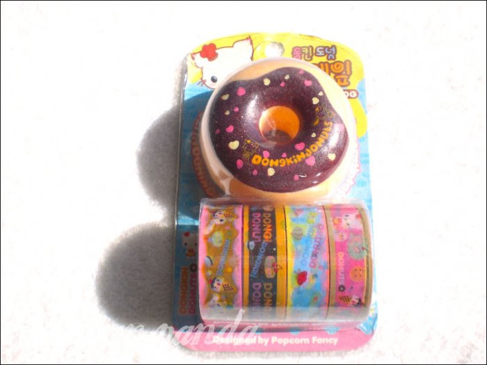donut deco tape dispenser with tape a