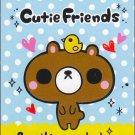 pool cool cutie friends mini memo pad